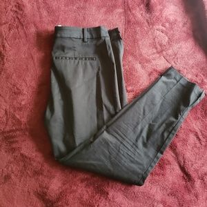 H & M all black ankle slacks size 10